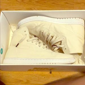 "Air Jordan 1 deconstruction ""sail white"""
